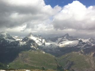 gornergrat スイス側_