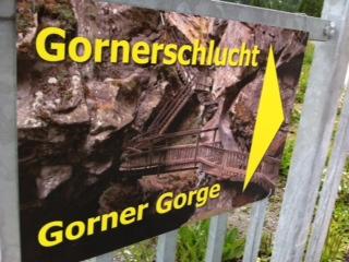 Gorner gorge ハイキング_