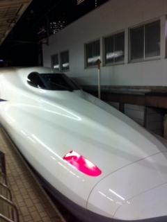 帰りの新幹線_