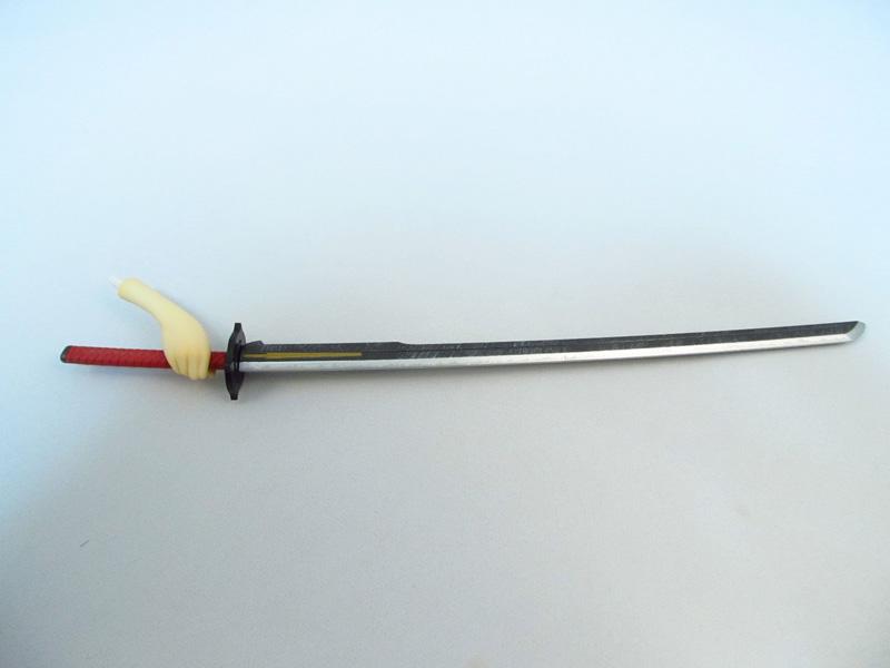 フィギュア セブンスドラゴン2020 サムライ(刀子) マックスファクトリー 右手に刀を持たせる
