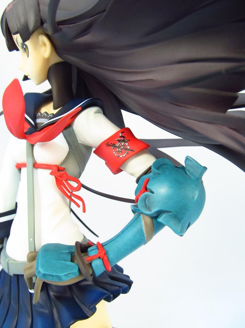 フィギュア セブンスドラゴン2020 サムライ(刀子) マックスファクトリー 左腕の腕章と篭手