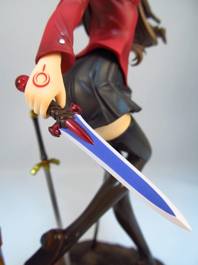 フィギュア グッスマ 遠坂 凛 UNLIMITED BLADE WORKS 右手のアゾット剣