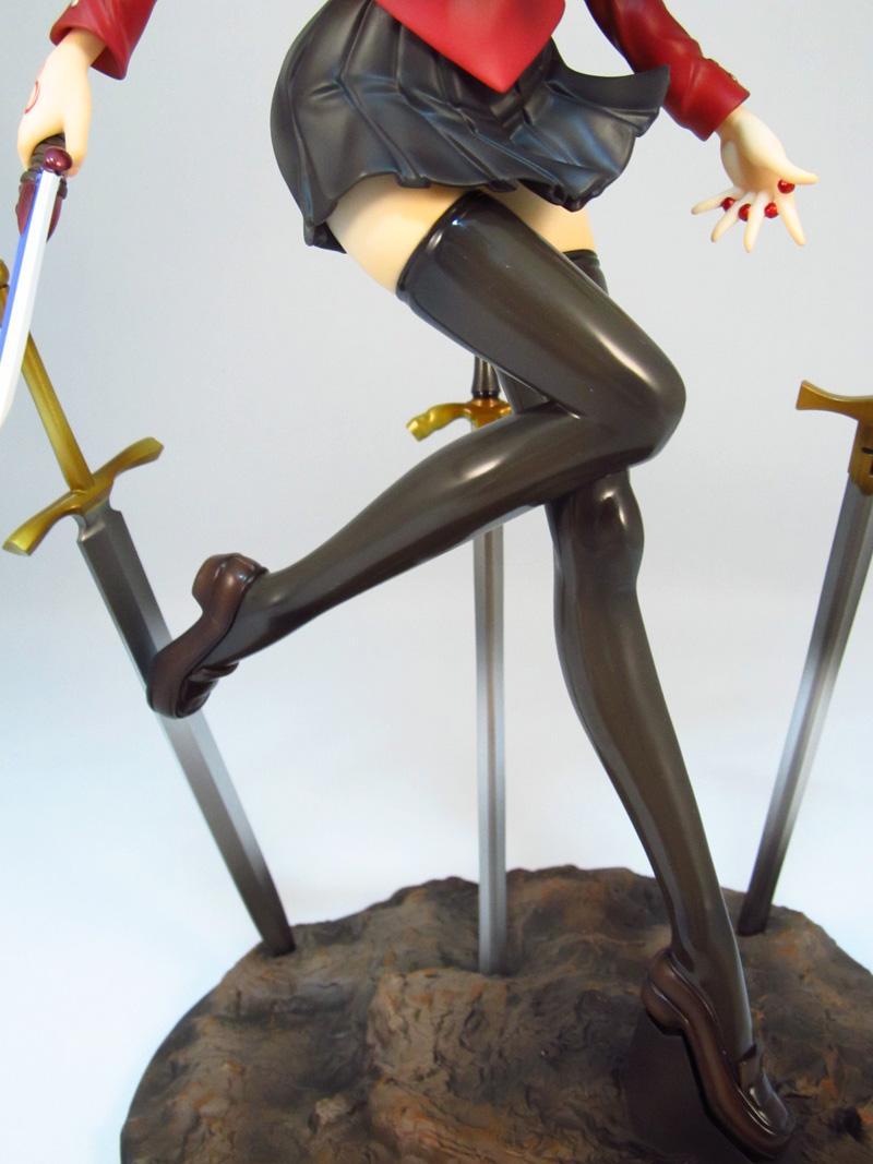 フィギュア グッスマ 遠坂 凛 UNLIMITED BLADE WORKS 綺麗な足
