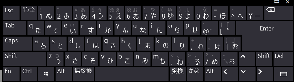 Hardware Layout Keyboard