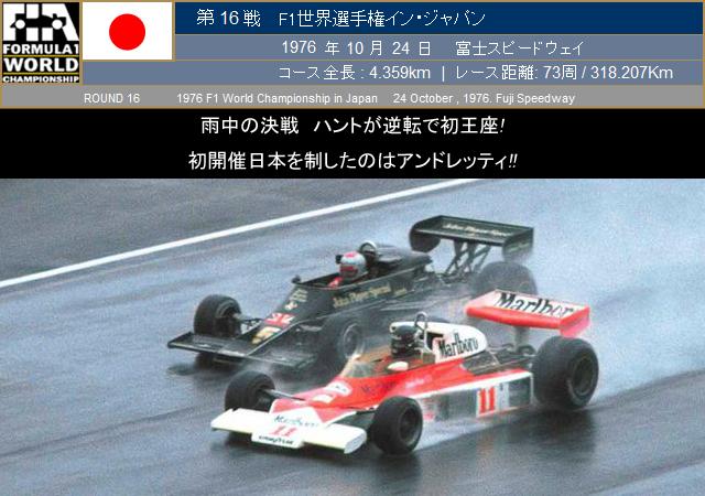 FORMULA TIMES 1976年 第16戦 F1...