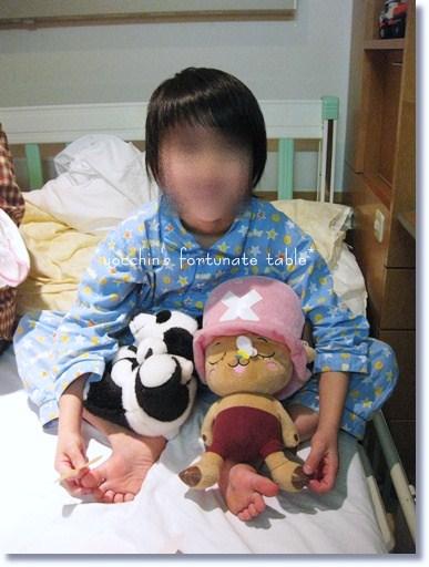 *長男8歳 アレルギー紫斑病入院*
