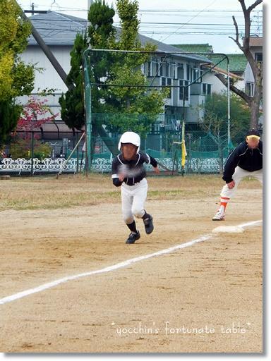 *長男 少年野球*