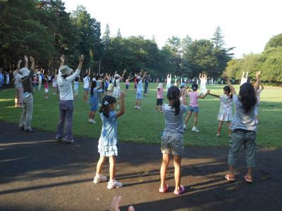 2012 08 07 ラジオ体操