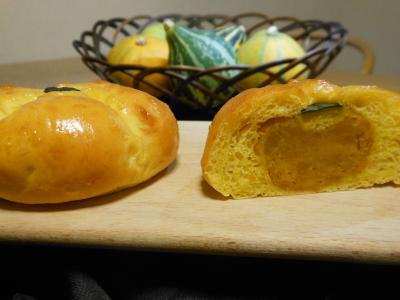 2012 09 18 かぼちゃパン