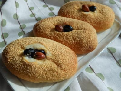 2012 10 12 お豆パン