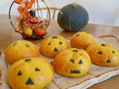 2012 10 26 かぼちゃパン