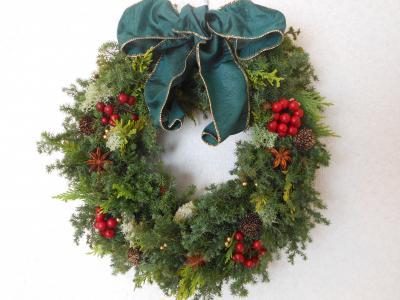 2012 12 05 クリスマスリース
