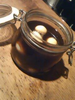 鶉卵カレー味