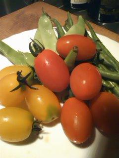 軽井沢の新鮮野菜