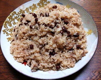 red bean rice