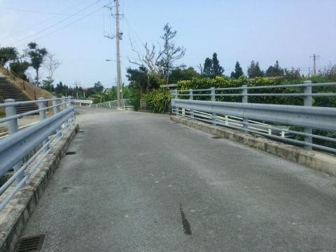 祖父祖母の家の前の橋からの景色1