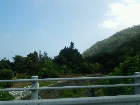 祖父祖母の家の前の橋からの景色2