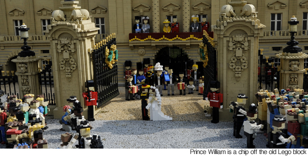 The Royal Wedding Recreated With Lego Blocks (1)
