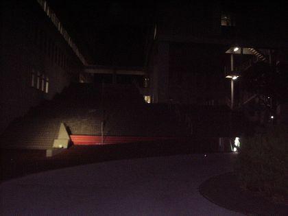 夜の多摩キャンパス1