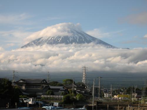 雨上がりの富士2