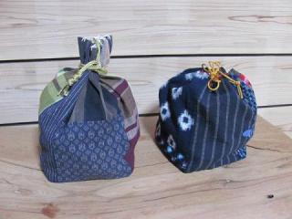 個人的に懐かしい布の仏供米袋_3688