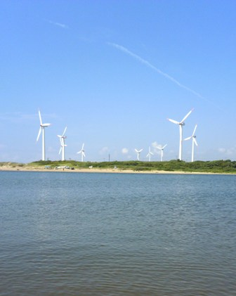 雄物川河口2