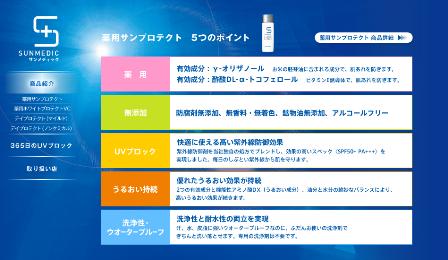 資生堂 サンメディックUV「薬用サンプロテクト」