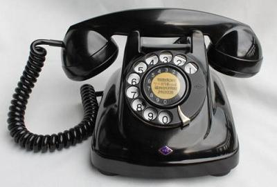 黒電話abc