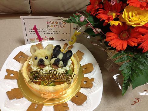 8-5花とケーキ