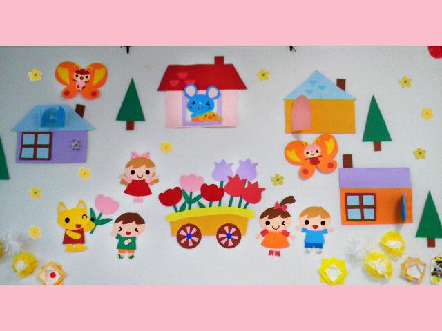 すべての折り紙 クリスマス折り紙飾り作り方 : 保育 壁面・掲示物飾り販売-こ ...