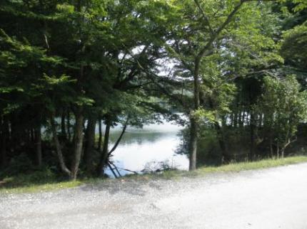 湖が見える1