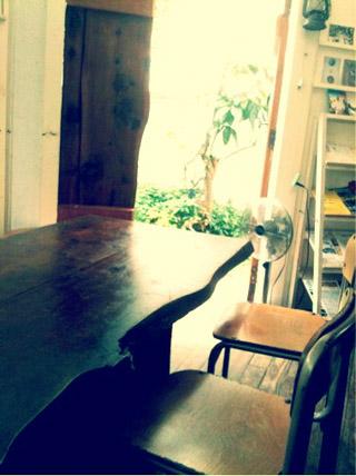 ●カフェ内