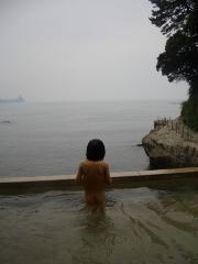 海を一望!