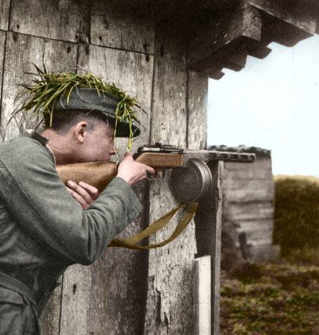 ppsh german soldier