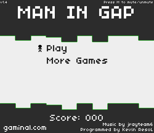 MAN IN GAP-1