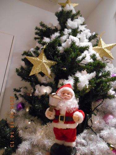 サンタクリスマスツリー
