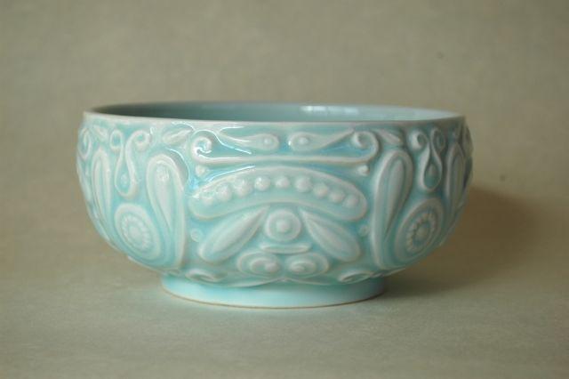 青白磁鉢0A径16cm