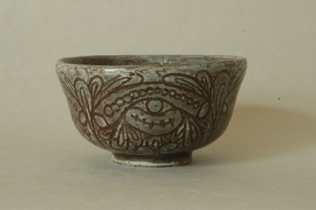 粉青沙器茶碗