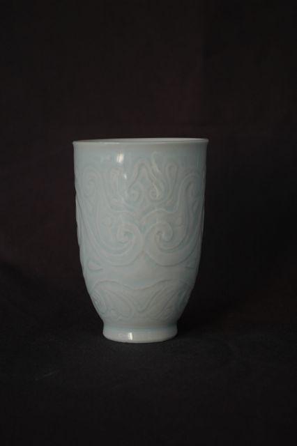 青白磁フリーカップ