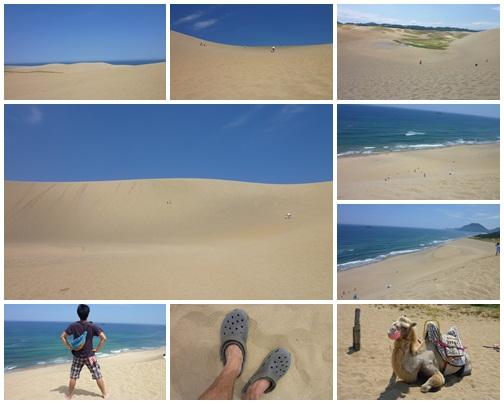 鳥取砂丘。暑い!!