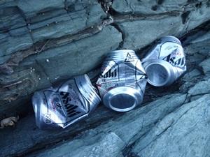 ビール缶。