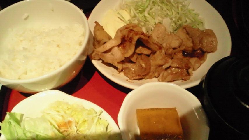 黒豚の生姜焼き