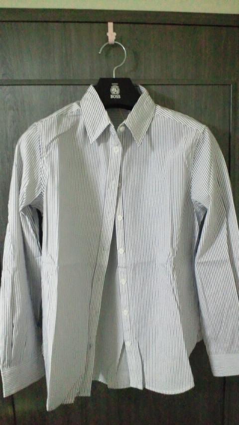 ネイビーストライプシャツ201411
