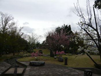 因幡万葉歴史館庭