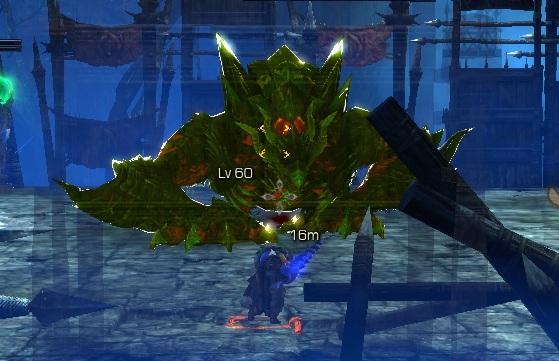 冥堂ログラン ジャンプ攻撃