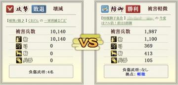 合戦状況報告書 詳細4 - 戦国IXA
