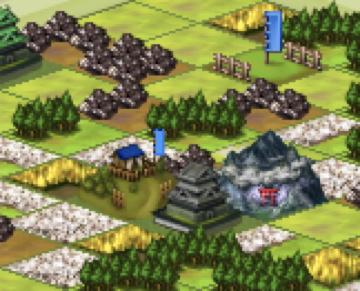 地図 1- 戦国IXA