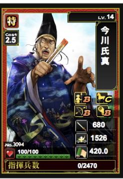 氏真 - 戦国IXA
