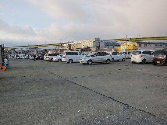 八戸新湊側 駐車場