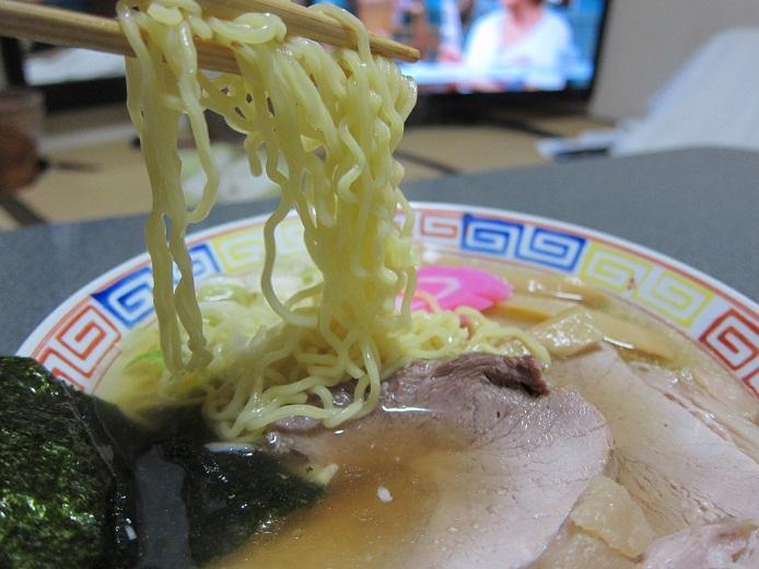 一山製麺でラーメン作って見た